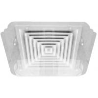Экран Кватро для вентиляционной решетки (диффузора)